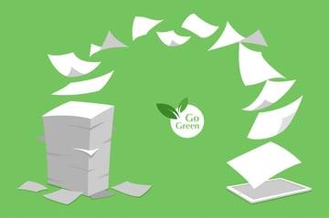 紙を削減する方法とペーパーレス化
