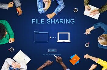 社外の関係者との安全なファイル共有の方法とそれぞれのメリット・デメリット