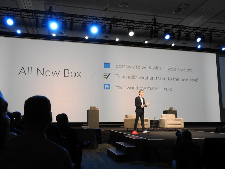 BoxWorks 2016ライブレポート [9/7:Day1前編] アーロン登場!