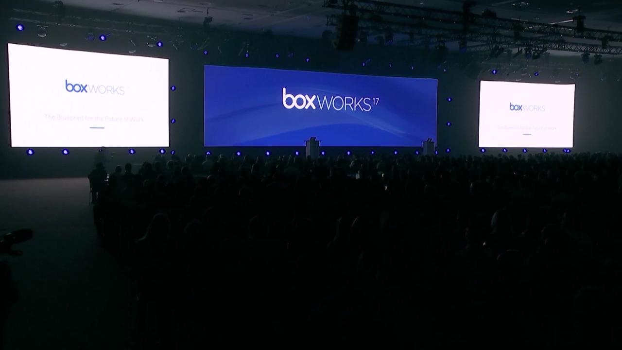 【限定公開】ここでしか見れない!アーロン・レヴィCEOによるBoxWorks 2017キーノート動画