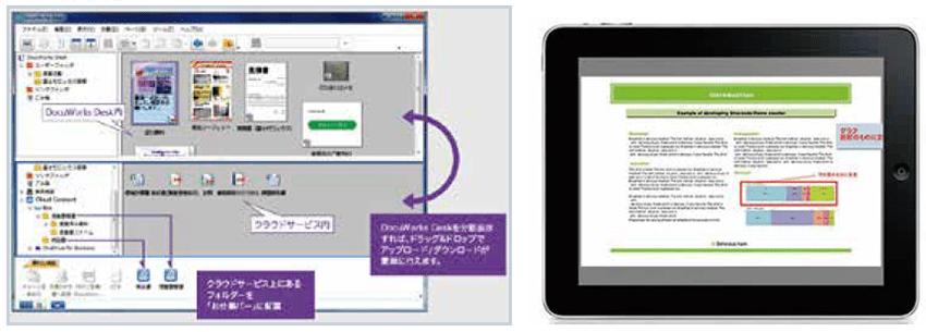 DocuWorksで電子文書と紙文書をひとつに統合・管理