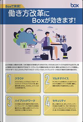 働き方改革にはBoxが効きます!